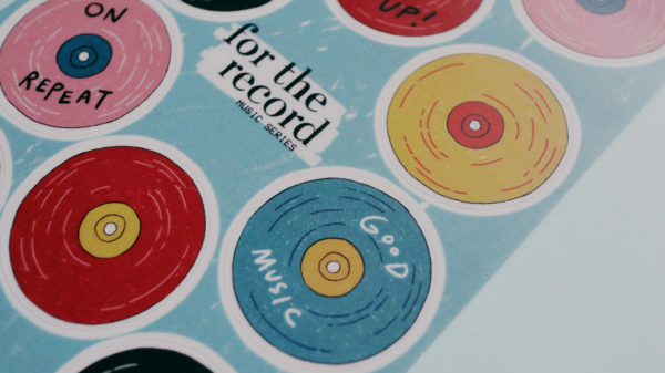 For The Record Sticker Sheet